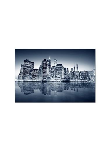 Arte Casero Şehir Kanvas Tablo 60x90 cm Renkli
